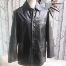 Leather Regular Size Coats & Jackets for Men NEXT