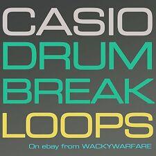 CASIO Drum Break Loops Sound Drumbeats Classic WAV Dr REX Rx2 Reason Samples CD