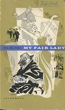 Alan Jay LERNER (Author): My Fair Lady (Norwegian Edition) - Julia CHILD's copy