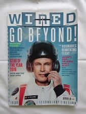 WIRED MAGAZINE - December 2016 - GO BEYOND Bertrand Piccard