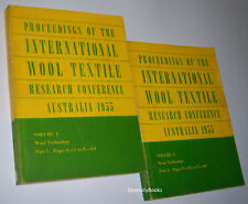 PROCEEDINGS OF THE INTERNATIONAL WOOL TEXTILE RESEARCH CONFERENCE AUSTRALIA 1955