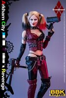 BBK BBK011 1/6 The Female Clown Arkham City Joker Girl Action Figure Toy
