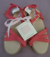 NWT 12 Janie and Jack Spring Gala Easter Pink Strappy Espadrille Sandals Shoes