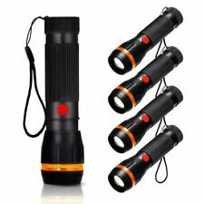 Pack of 4 Pocket Torches, Fulighture LED Torches Mini Flashlights Zoomable, 2 Mo