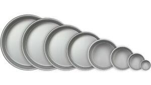 "PME Round Cake Pans/Tins 3"" - 16"" Diameter Top Quality Hard Wearing (3inch Deep)"