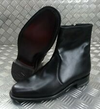 Genuine British Made Hobson Police Officers & Military Ceremonial Zip Boots
