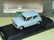 AUSTIN MINI SEVEN 1969 Bleu Pale VITESSE 580 conduite anglaise