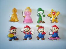 SUPER MARIO BROS FIGURINES SET NINTENDO ZAINI - FIGURES COLLECTIBLES MINIATURES