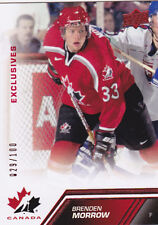 13-14 Team Canada Brenden Morrow /100 Red Exclusives Upper Deck 2013