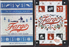 FARGO SEASON 1 & 2 DVD COMPLETE TV SERIES NEW +BONUS FEATURES.(2,4 DISC SETS)
