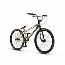 "2017 Redline Flight Cruiser 24"" Complete BMX Bike Champagne Black Carbon Fork"