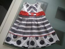 Robe bébé fille marine et rouge  Taille 18 mois   MAIORISTA baby    NEUF