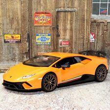 Lamborghini Huracan Performante 1:24 Scale Die-cast Metal Model Toy Car Bburago