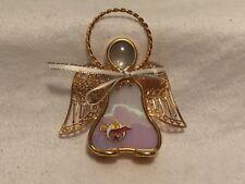 Shriners Masonic Freemason stained glass angel Christmas  Tree Ornament