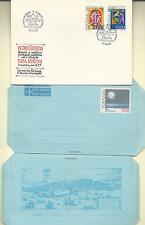 PORTUGAL 1977 PAPA JOAO XXI FDC & 7 OFFICIAL POSTAL CARDS & 2 AEROGRAMMES MINT