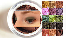 Eyeshadow & Eyeliner Lot- All-Natural Gentle Vegan Mineral Makeup