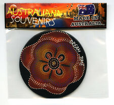 Dream-time 004 , Australiana Painting, Image, Fridge Magnet, Souvenir.
