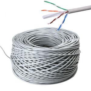 100m Outdoor Cat 6 Ethernet Network Cable External Gigabit LAN Networking Lead