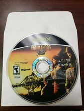 Commandos 2: Men of Courage (Microsoft Xbox, 2002) - DISC ONLY