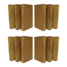30% Alumina Refractory Fire Brick Kit 2426F of 12 replacements 9