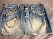 Woman's Gas jeans mini skirt size 27