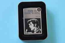 "Zippo Elvis Presley ""King of Rock 'N Roll"" Lighter Sealed 2000"