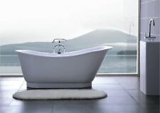 Bathtub Freestanding - Solid Surface Bathtub - Modern Soaking Tub - Armada - 69""