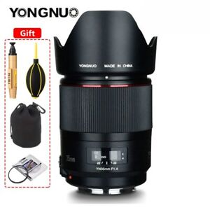 UK YONGNUO YN35MM F1.4 Wide Angle MF Lens for Canon 600D 60D 5DII 5D 500D 400D
