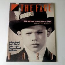The Face Magazine - Hard Issue, March 85 - Andy Warhol interview, Sam Shepard