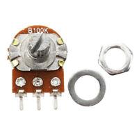 5 x 100K ohm B100K Top Adjustment Dual Linear Potentiometer Pots W5B9