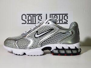 Nike Air Zoom Spiridon Cage 2 Metallic Silver [CJ1288-001] Size 9.5-11