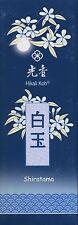shiratama - Blanco Juwel - Japonés hikali KOH Incienso