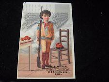 1800's Wilson Furniture Carpets Sewing Machines Phila PA Victorian Trade Card