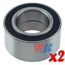 Pair of 2 New Front Wheel Bearing WJB WB513006 Interchange 513006 B42