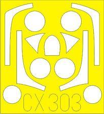 Eduard 1/72 T-33 Shooting Star paint mask # CX303