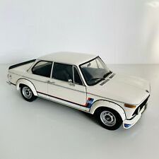 BMW 2002 Turbo White KYOSHO 1/18 - Dealer Edition - MINT Condition