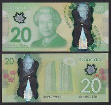 Canadá - 20 Dollars  2012  Pick 108a  SC = UNC