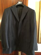 MASSIMO DUTTI Jacket  Chaqueta T-54 Uk-44 wool Lana 120's Puño Desabotonable