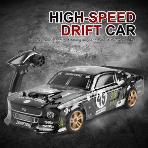 1/18 60km/h RC High-Speed Drift Racing Car 4WD Off-Road Vehicle Remote Control