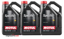 Aceite Motul Specific 0720 5W30 Renault motor Filtro Partículas FAP, pack 15 Lts