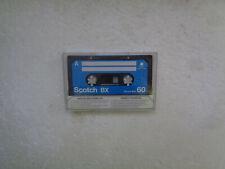 Vintage Audio Cassette SCOTCH BX 60 From 1982 - Fantastic Condition !!