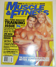Muscle & Fitness Magazine 74 Paged Training Issue February 2001 101014R