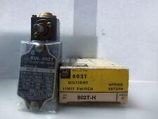 New Allen Bradley 802T-H 802TH OilTight Limit Switch Series C NIB