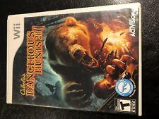 Cabela's Dangerous Hunts 2011 (Nintendo Wii, 2010)