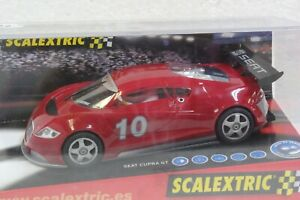SCALEXTRIC XJ342 SEAT CUPRA GT NEW - EXCELLENT CONDITION 1/32 SLOT CAR