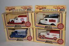 LLEDO Models of Days Gone; Die Cast Metal, Lot of 4 Cars