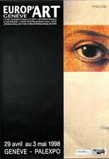 """Europ'ART, Palexpo,""1998, Geneve, Switzeland"