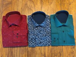 Men's Button Down Dress Shirts Unbranded Pack Of 3