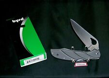 Byrd BY03TIP2 Titanium Knife 8CR13mov Blade Steel W/Package,Papers Warranty
