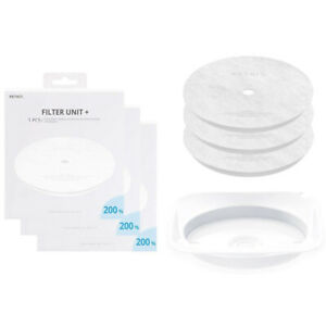 Petkit Eversweet Health Water Drinking Fountain Replacement Filters 3pcs & Tray